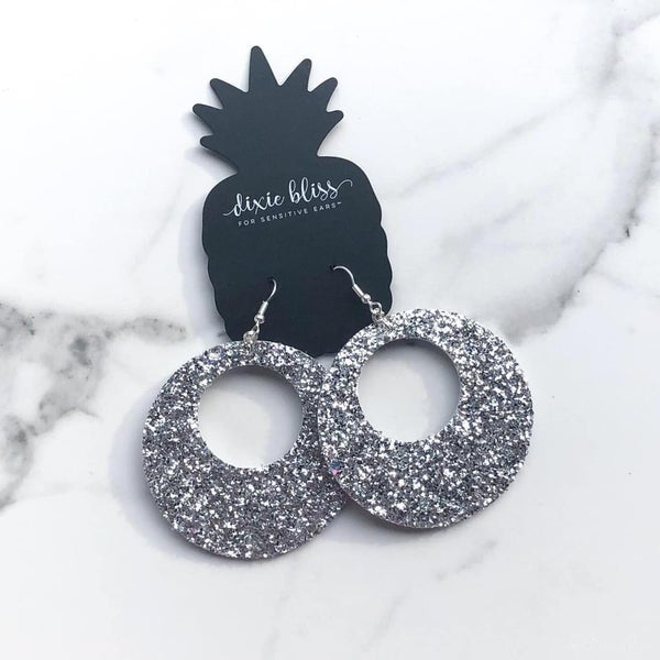 Silver Catalina Earrings
