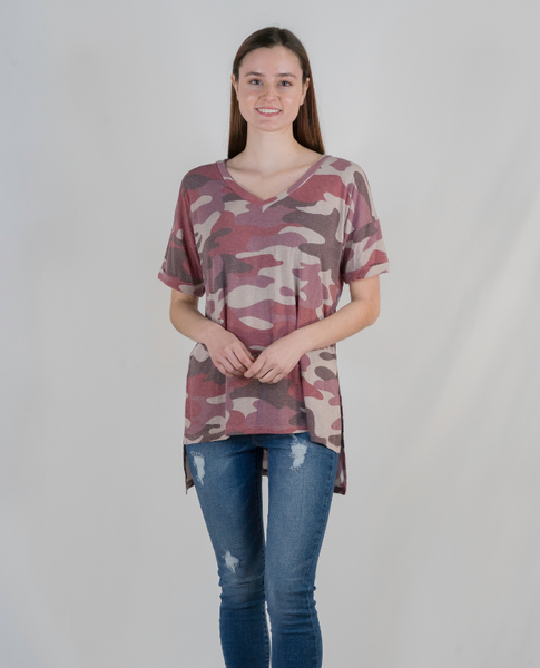 All's Fair in Love and Camo Tee