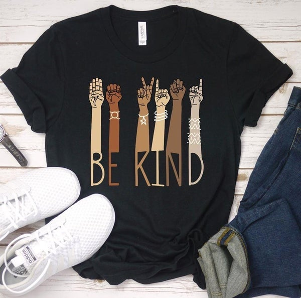Be Kind ASL Graphic T