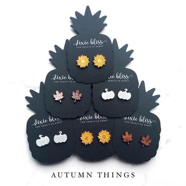 Autumn Things Earrings