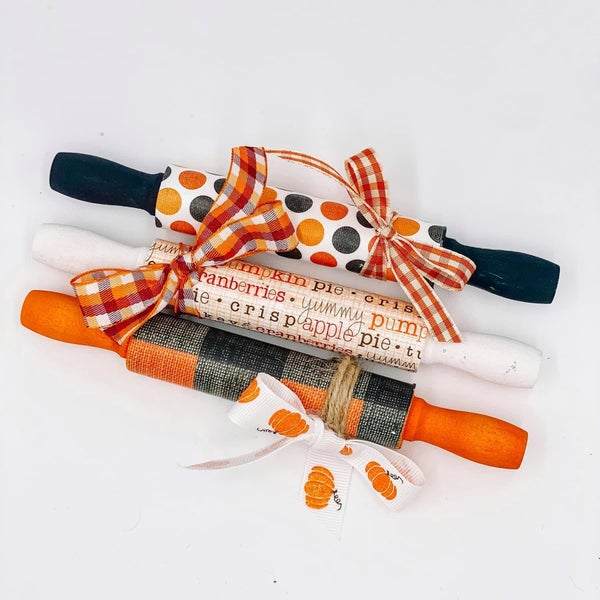 Fall Mini Rolling Pins