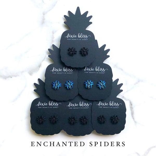 Enchanted Spiders Earrings