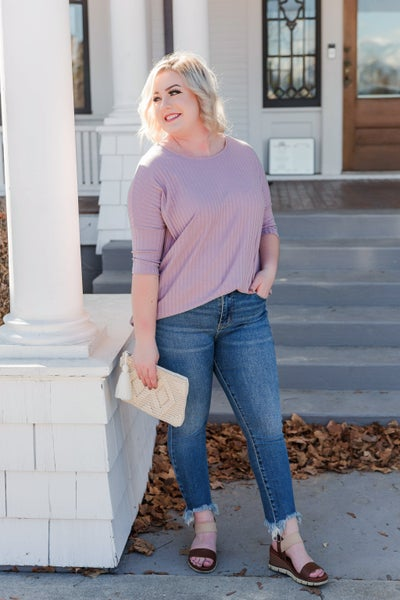 Lavender Fields Forever Top