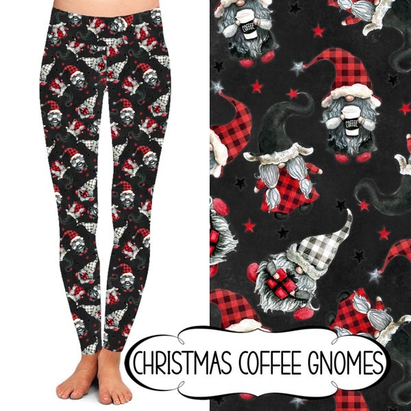 PREORDER Holiday Leggings - Adult Sizes (Batch 2)