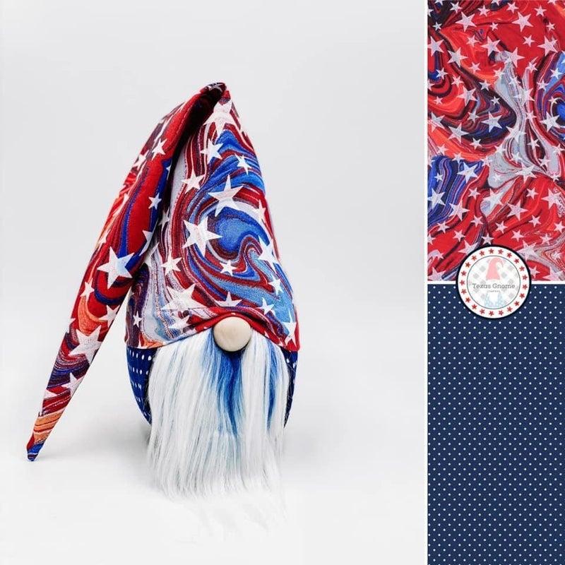 Oilslick Patriotic Stars Gnome