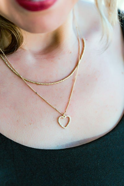 A Little Piece Of My Heart Necklace