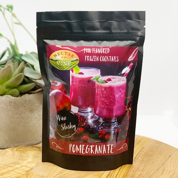 Nectar of the Vine Pomegranate Wine Slushy Mix
