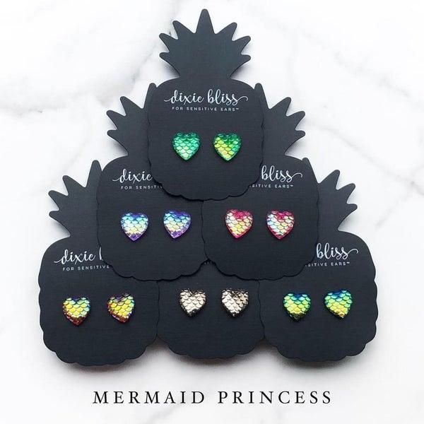 Mermaid Princess Earrings