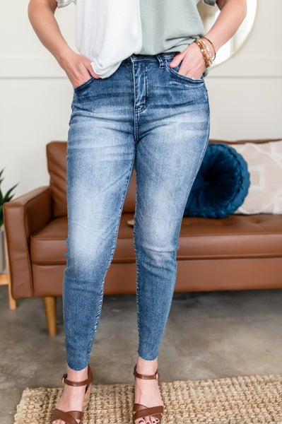 Defying Gravity Judy Blue Relaxed Fit Jeans