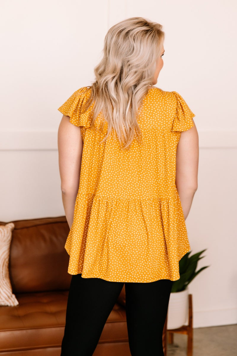 The Perfect Dot In Mustard