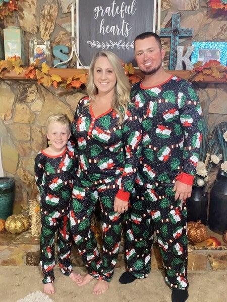 Adult Holiday Pajamas Preorder
