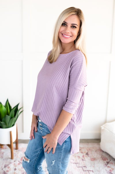 Color My World In Lavender Top