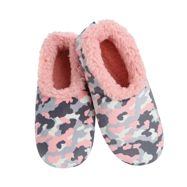 Kid's Camo Snoozies Slippers