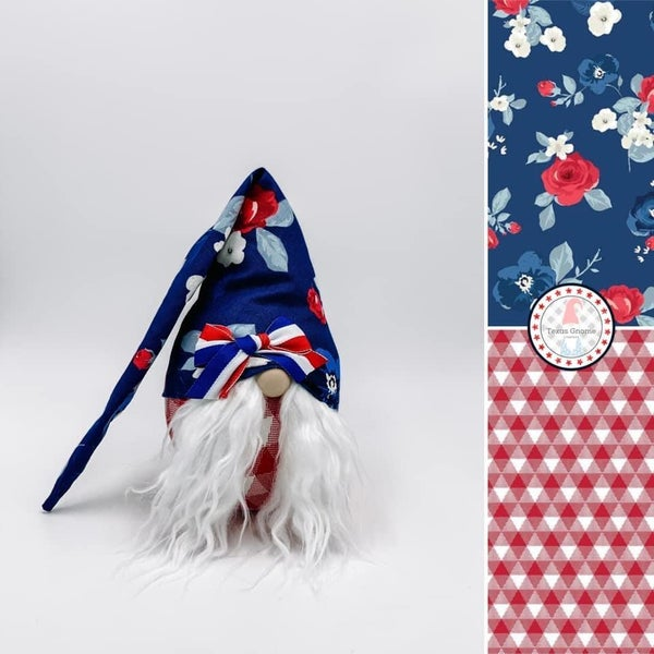 Liberty Floral Girl Gnome