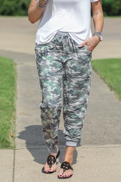 Camo Everyday Joggers