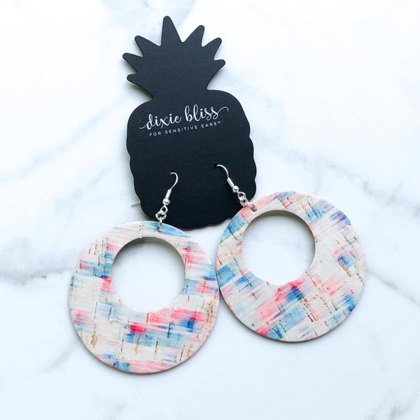 Catalina Brush Stroke Earrings