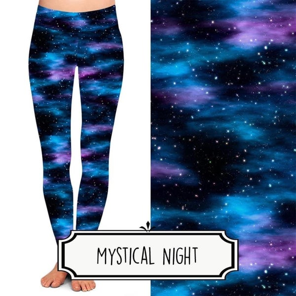Mystical Night Leggings