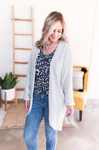 The Winds Of Change Cardigan In Natural