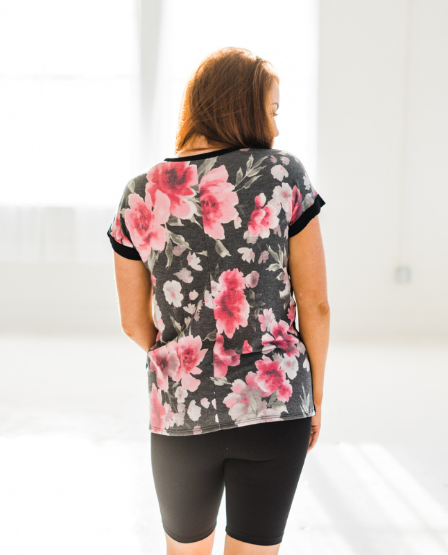 Flower Party in the Back Tee