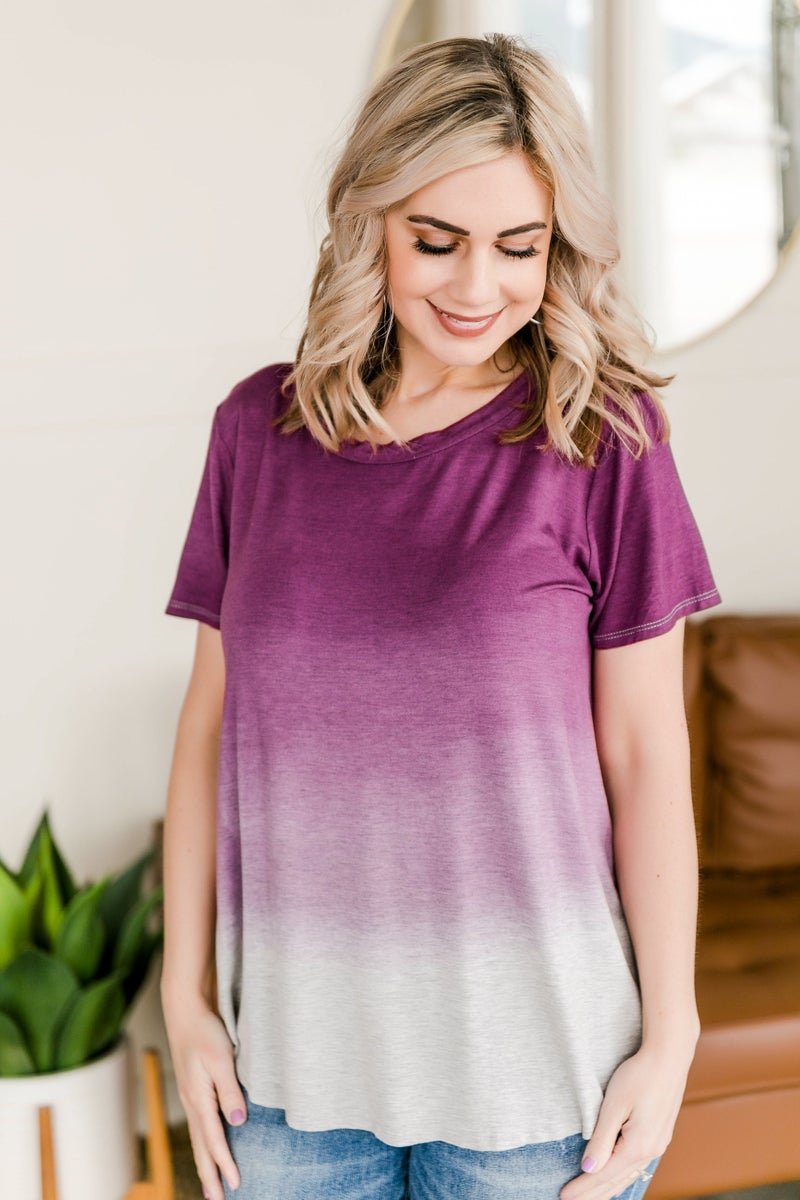 Always By Your Side Top In Amethyst
