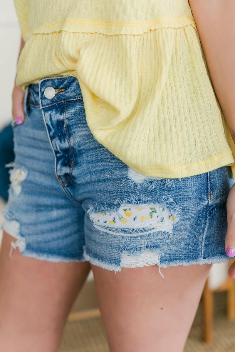 When Life Gives You Lemon's Judy Blue Shorts