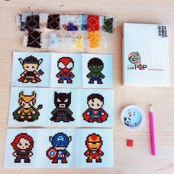 Diamond Art Sticker Kit