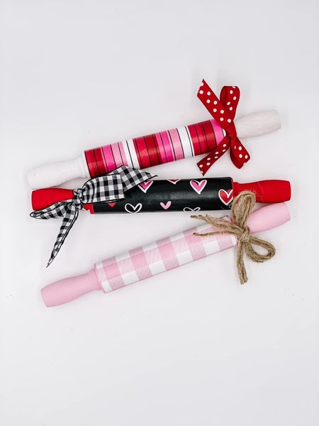 Valentine's Day Mini Rolling Pins