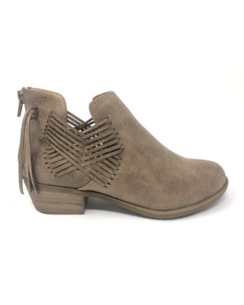 Very G Taupe Parker Booties