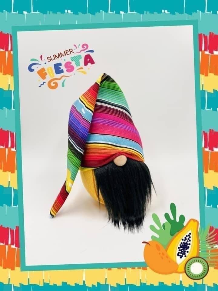 Summer Fiesta Gnome
