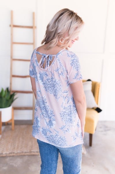 Keep Your Florals Close in Soft Blush