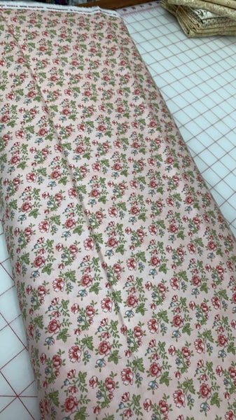 Rue 1800 Floral Fabric by the Yard 44225 12