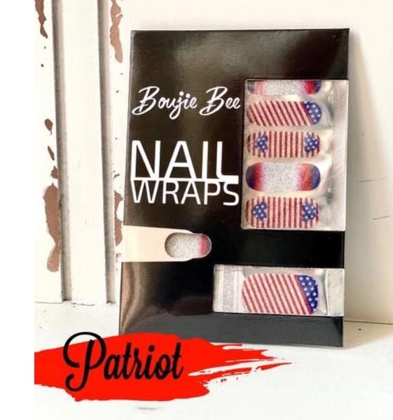 02722- Boujie Bee Nail Wraps