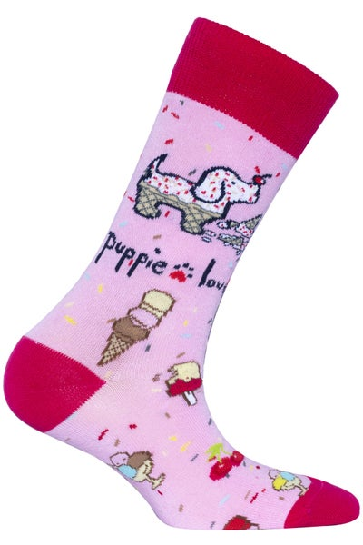 Puppie Love Socks 02033