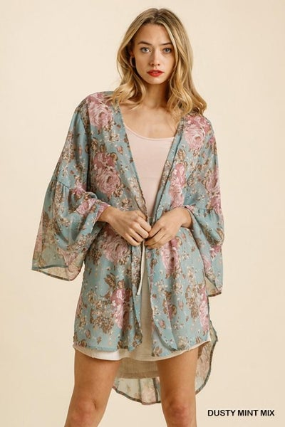 Hi-Lo Kimono 03629