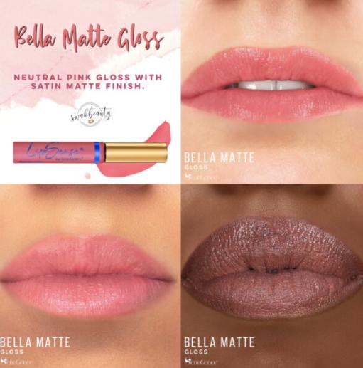 Bella Matte Gloss LipSense Moisturizing Gloss