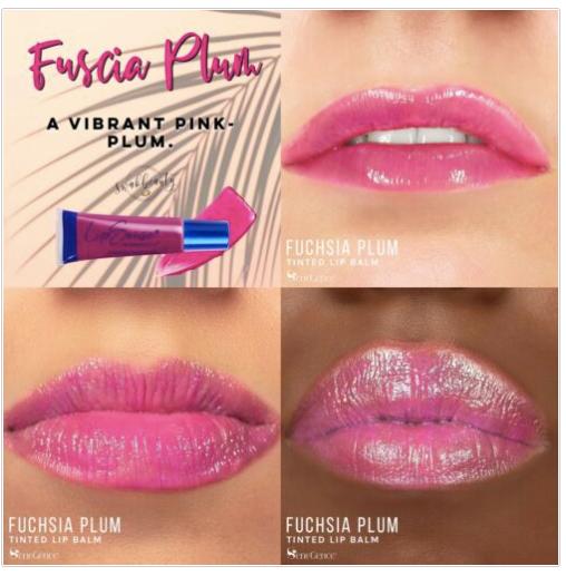 Fuchsia Plum Moisturizing Lip Balm LipSense