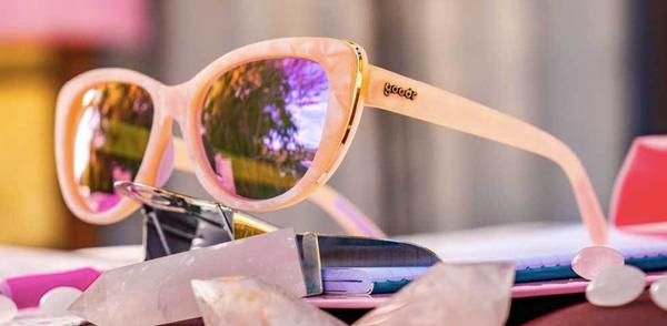 Rose Quartz Bypass Sunglasses 03740