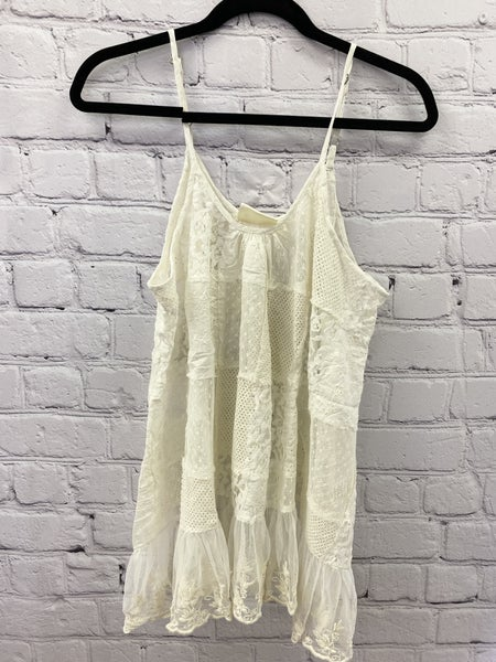 Sleeveless Cream Cami 03485