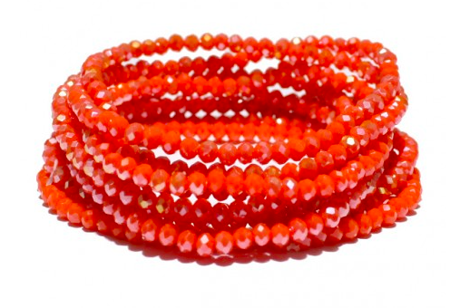 Multi Layered Bead Stretch Bracelet 03773