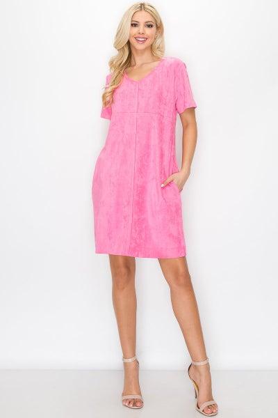 Audrey Round Neck Dress 03292