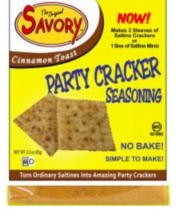 Savory Cracker Seasonings- Cinnamon Toast 03533