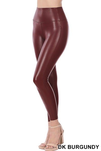 FAUX LEATHER LEGGINGS 02790