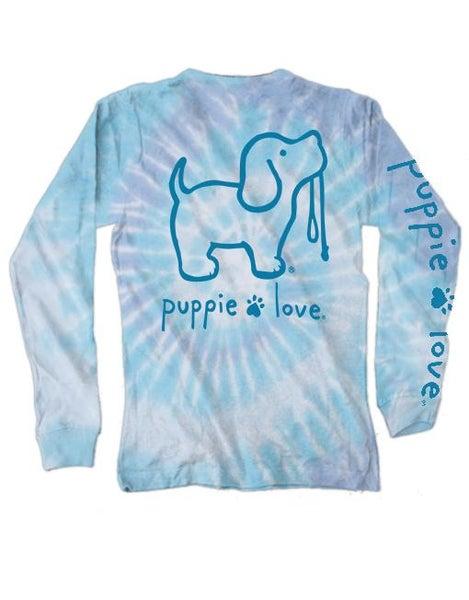 Puppie Love L/S Tie Dye T-Shirt 02037