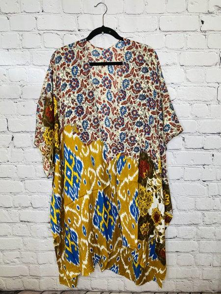 Lightweight Floral Print Kimono 03783