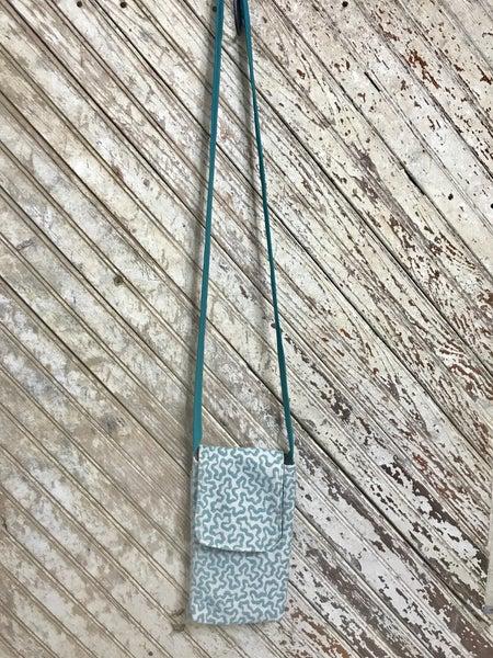 Tiffany Teal Side Pocket w/ Clear Phone Pocket