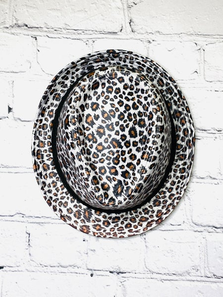 Leopard Fedora 01730