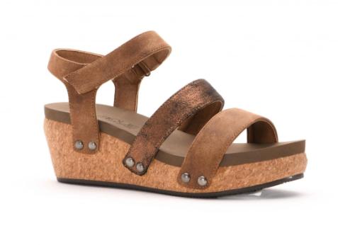 Corkys Cona Wedge Sandal 03687