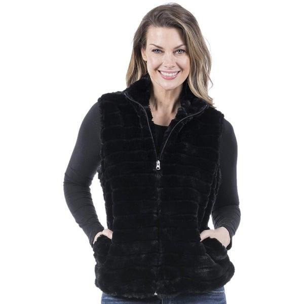 Faux Fur Vest 02150