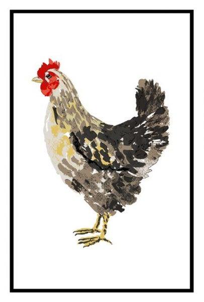 Rooster, Flour Sack Kitchen Towel 00823
