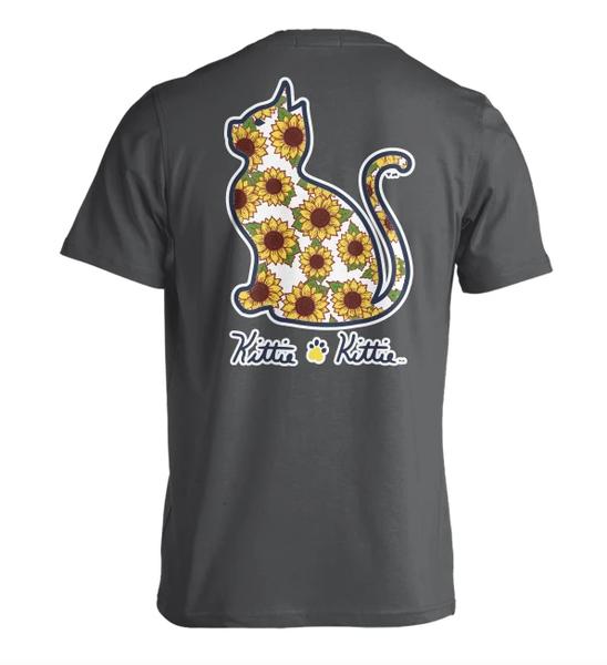 Sunflower Kittie Kittie T Shirt 03703